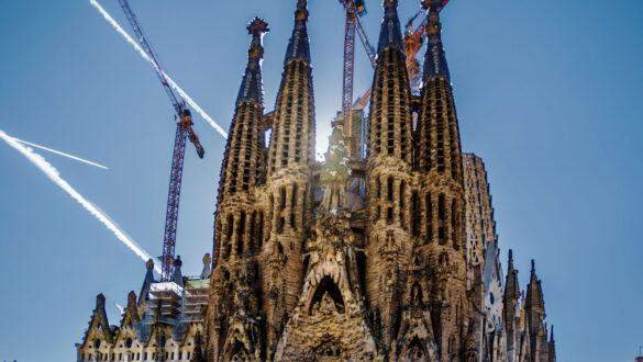 Die Geburtsfassade der Sagrada Familia